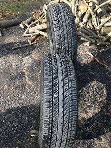 Two- 225/65R17 Uniroyal Tiger Paw All Season Touring Tires Peterborough Peterborough Area image 5