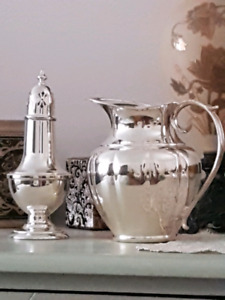 Silver plated pitcher by Marlboro SALE: WAS $59. NOW $30.