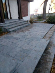 cheap pave uni Venetian overlay system by techo bloc