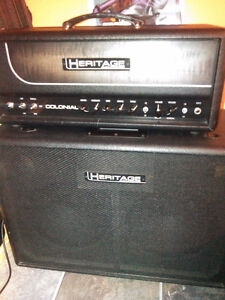 Heritage colonial Head with matching 2x12 cab