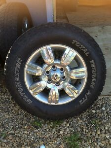 Tires and Rims from 2009 Ford F-150
