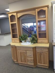 Hickory showroom vanity for sale