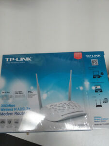Tp-link 300mps Wireless N ADSL2+ modem router combo