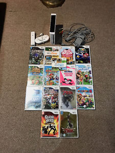 Wii System & Tons of Games Bundle - Best Offer
