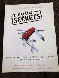** REDUCED ** Trade Secrets book
