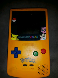 Limited edition Pokemon Gameboy color and pokemon yellow