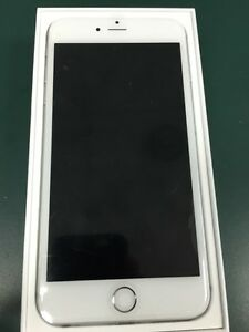 Apple iPhone 6 Plus 16 gb white with box good shape Rogers
