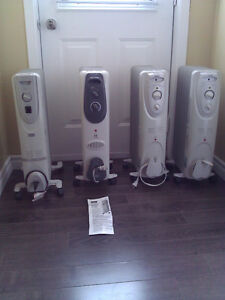 4 Oil Filled Radiator Heaters for Sale