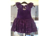 Stunning boutique party dress 3-4yrs