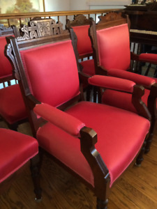 Six Antique  East Lake Chairs (1800's)