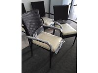Rattan chairs x4 brand new