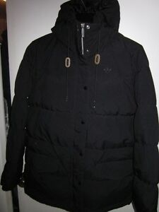 LIMITED EDITION 40 YEARS MENS ADIDAS WINTER BLACK DOWN PARKA