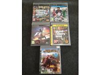 PS3 GAMES x5 £15 for them all.