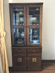 "Japanese dining ware cabinet "" Mint condition""OBO"