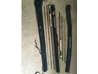 2x fly fishing rods.