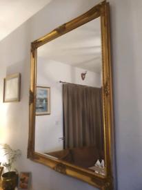 Huge Ornate style Mirror