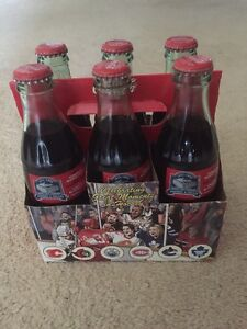 Air Canada Centre Opening Game Six Pack of Coca Cola Bottles