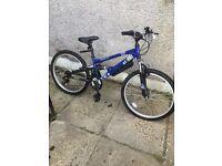 "New 24"" boys Apollo Sandstorm FS mountain Bike"