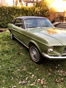 1968 FORD MUSTANG 289 - 2 DOOR COUPE