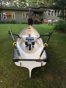 69lb Finest Rowing Skiff Little River Marine Heritage 15 Carbon