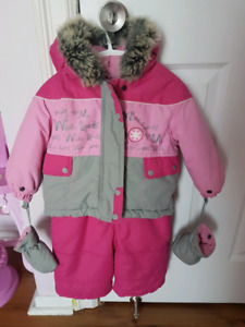 Baby Bell snowsuit 12 month old size