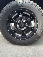 6 bolt BMF rims and tires