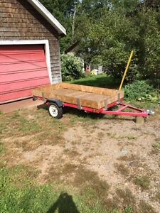 Brand new 4x8 trailer licensed inspected never used