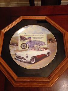 Buick GM collectors plate