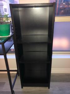 IKEA Black Malm Bookshelf - Excellent condition: $40