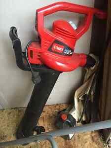 Toro Leaf vacuum/mulcher