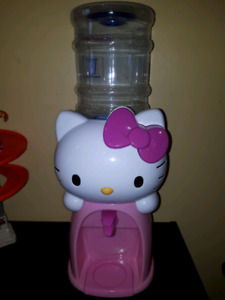 Hello Kitty Stuff! 2L Water Dispenser, Figurines, etc