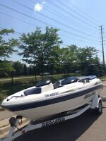 2002 Seadoo challenger 20 foot jetboat 240hp EFI mercury engine