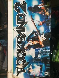 Rock Band 2 bundle unopened for Xbox 360
