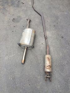2001-2002-2003-2004-2005 Honda Civic Exhaust Muffler
