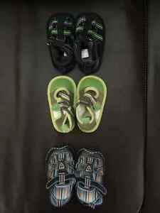 3 pairs baby sandals