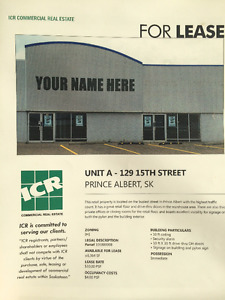 Retail Space for Lease on 15th Street!