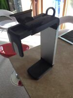 Under desk CPU holder made by humanscale