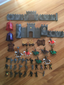 KNIGHTS AND CASTLE SET
