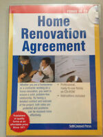 Home Renovation Agreement Forms  CD-ROM