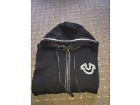 True religion black hoody 100% genuine new