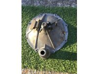 Classic Mini Verto flywheel housing end cover for pre engaged starter