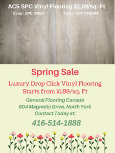 High End Vinyl Planks on Spring Sale! Starts from Only $1.89/sf!