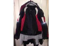 Motorcycle jacket large 34 chest