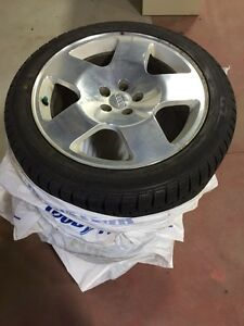Set of 4 Audi Winter Rims And Tires
