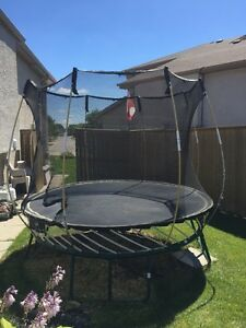 Trampoline 8' Spring Free with safety net