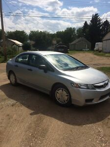 2010 Honda Civic DX for sale with LOW MILEAGE