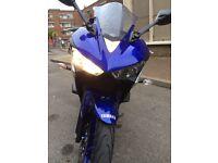 Yamaha r3 reg R125 RARE!!