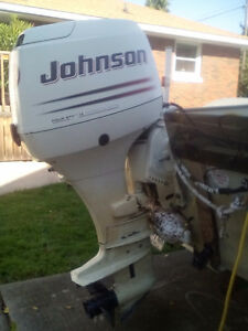 Boat motor for sale or trade.