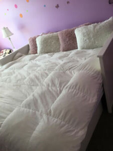 Day bed/ King bed ( 2 in 1) with Mattress Hemnes Ikea