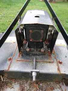 72 Inch Tractor Tow Behind Lawnmower